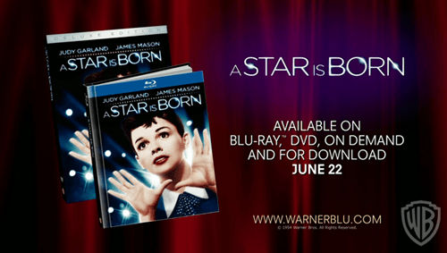 A Star Is Born on Blu-ray from Warner Home Video