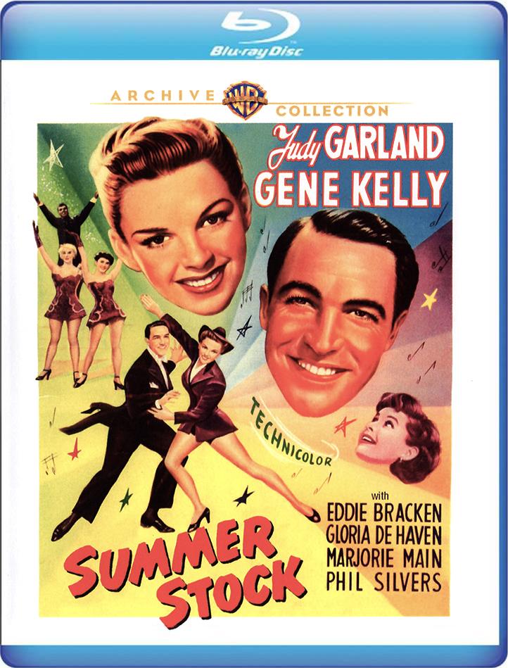 Judy Garland Summer Stock Blu-ray