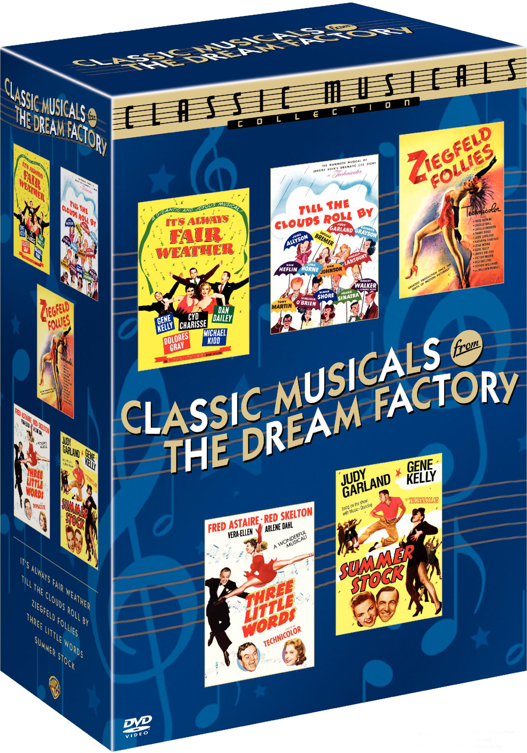 Classic Musicals from the Dream Factory DVD set