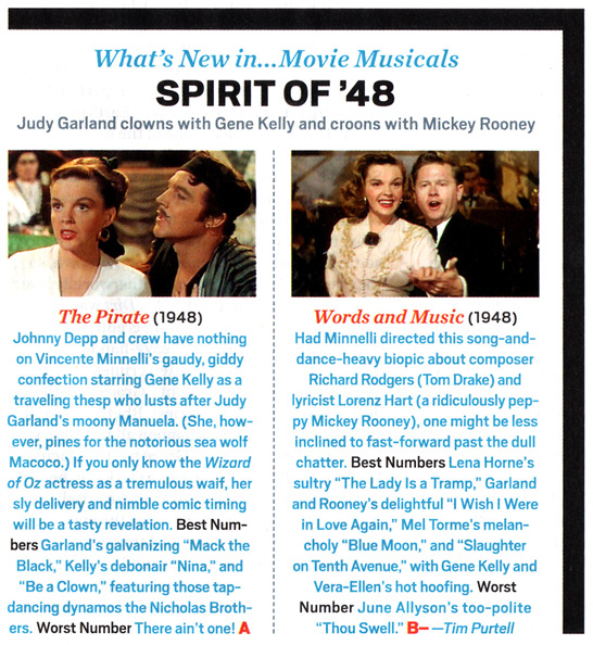 Entertainment Weekly reviews