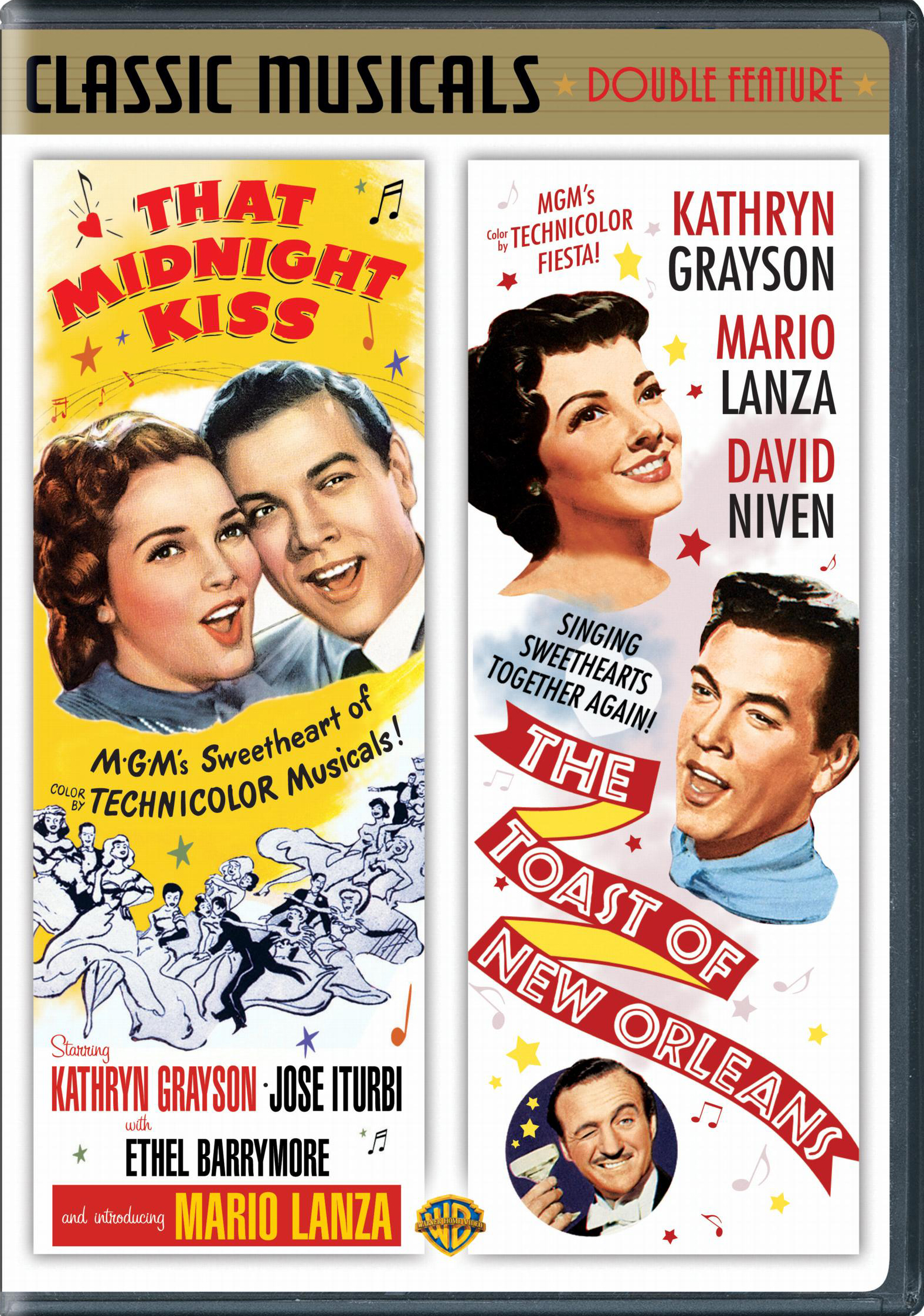 That Midnight Kiss / The Toast of New Orleans DVD