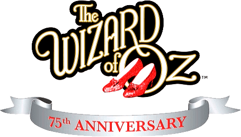 The Wizard of Oz 75th Anniversary Logo