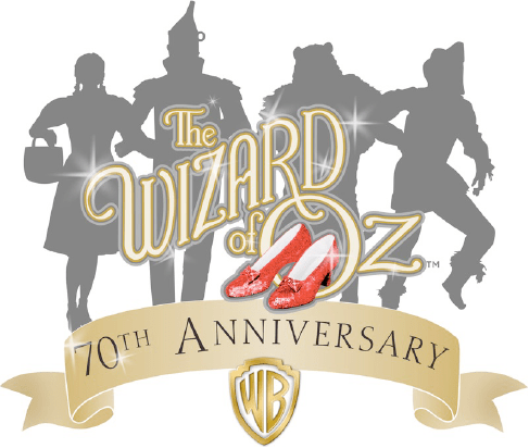 The Wizard of Oz 70th Anniversary Logo