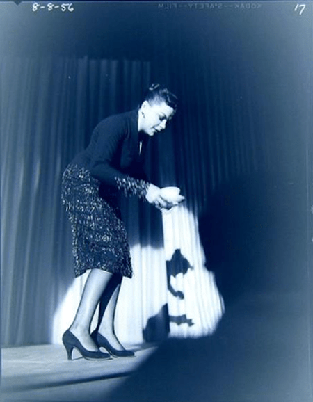 August 8, 1956 - Judy Garland at the New Frontier Hotel in Las Vegas, Nevada