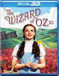 The Wizard of Oz 3D edition single disc clamshell packaging 2013