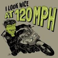 motorcycle illustration frankenstein