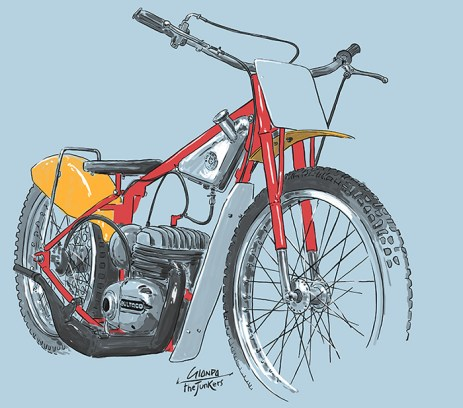 bultaco illustration