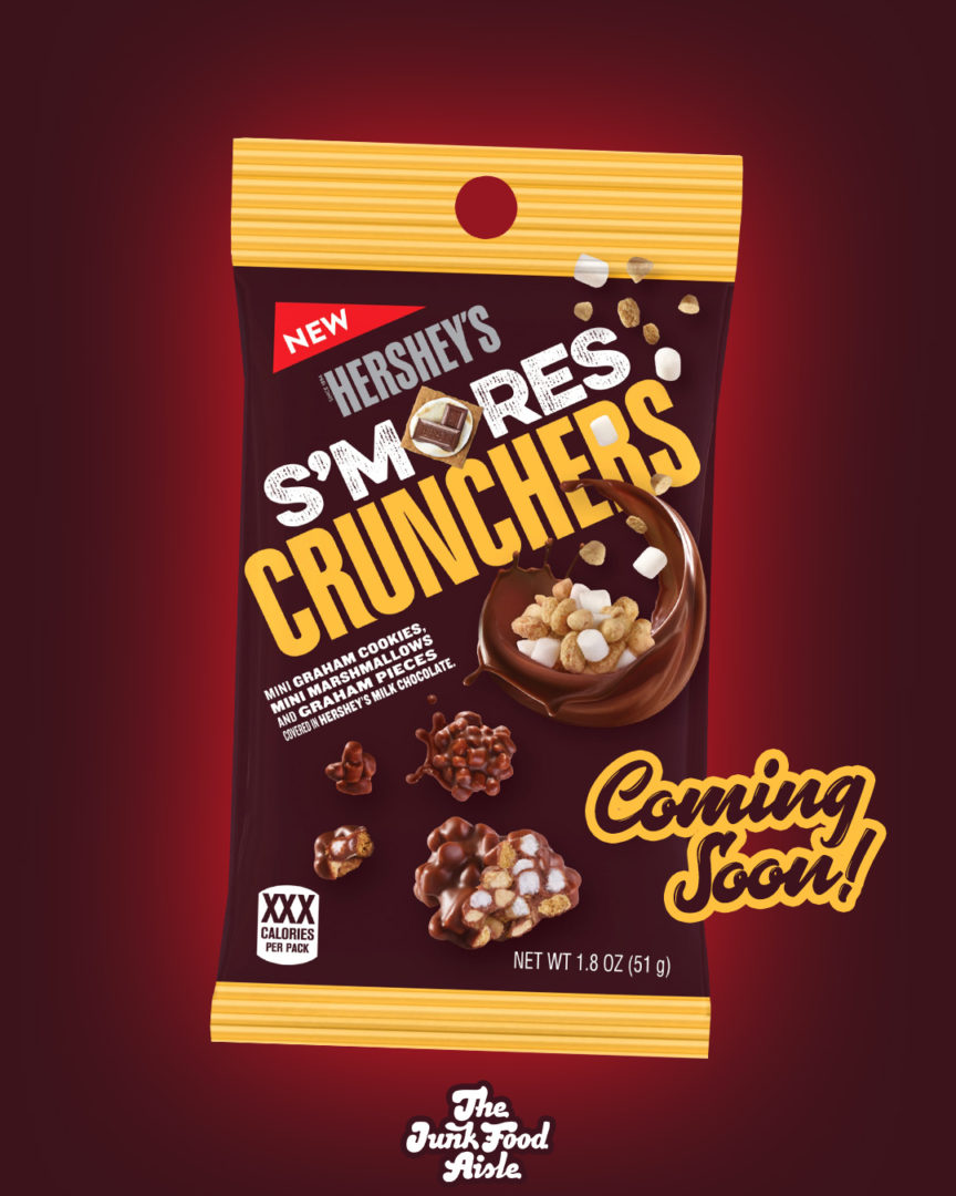 Coming Soon: Hershey's S'mores Crunchers