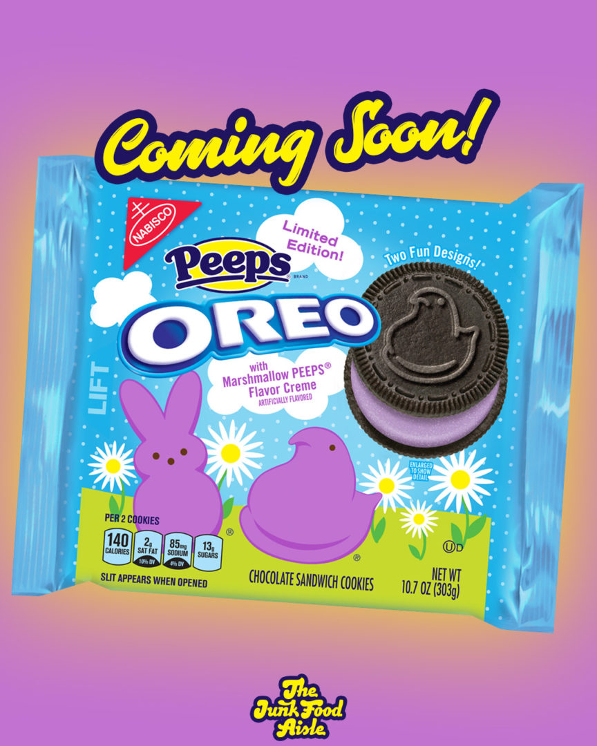 Coming Soon: Peeps Oreo with Chocolate Cookie
