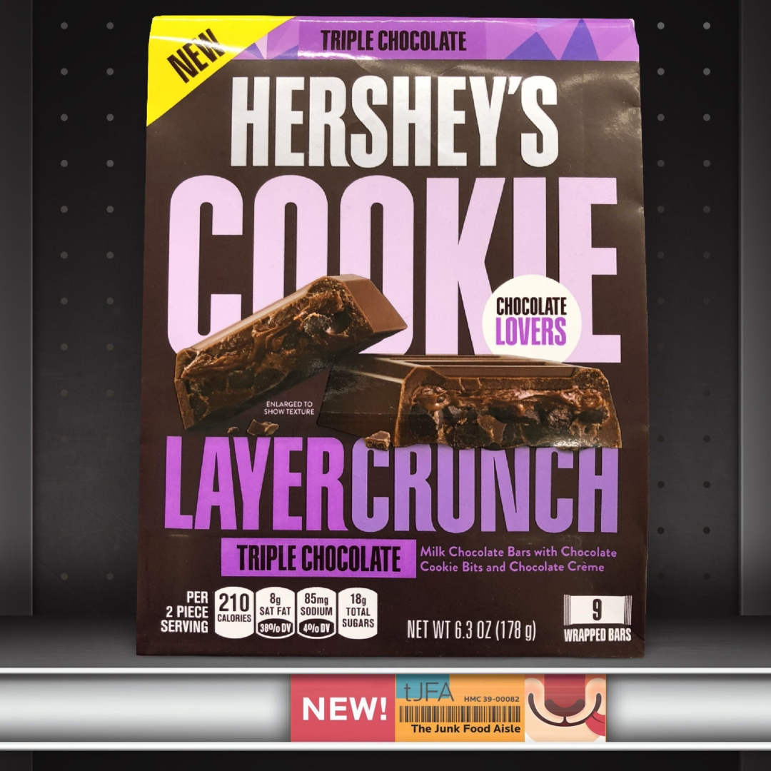 Hershey's Triple Chocolate Cookie Layer Crunch