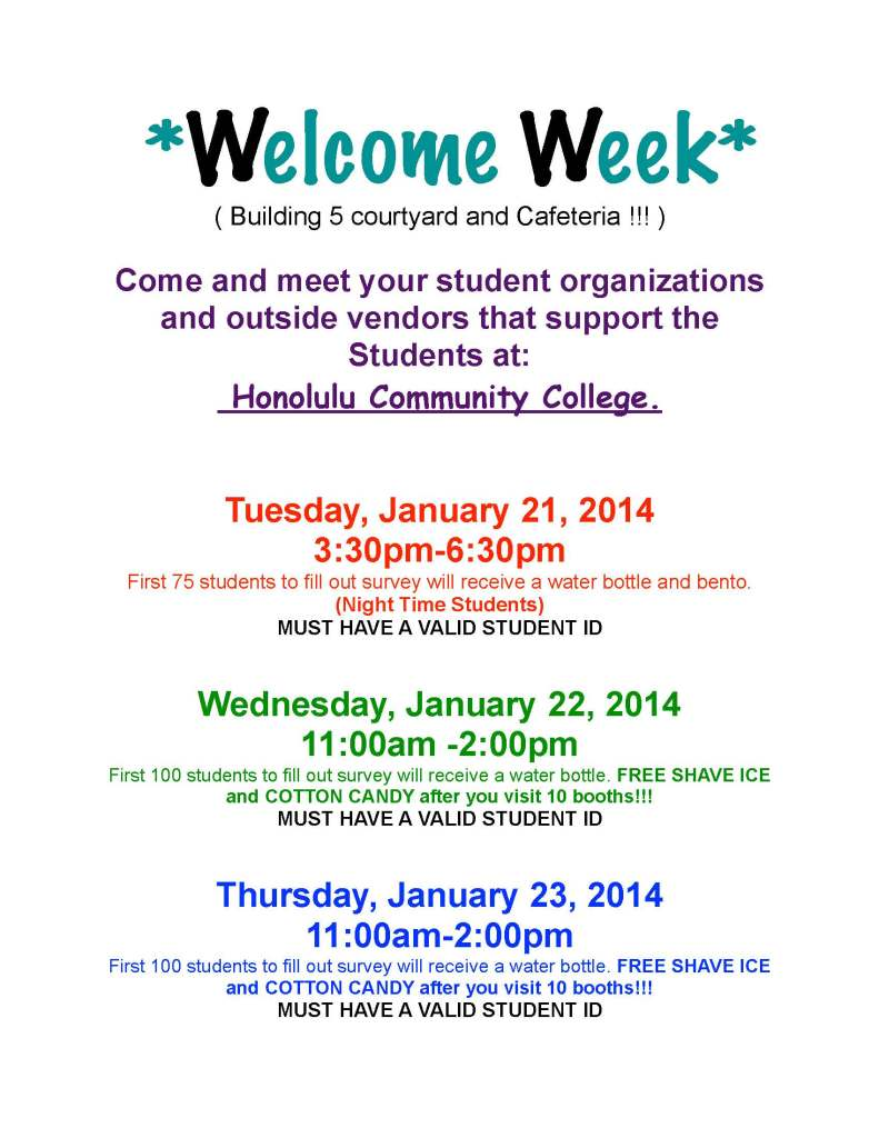 WELCOME WEEK ADVERTISEMENT-2