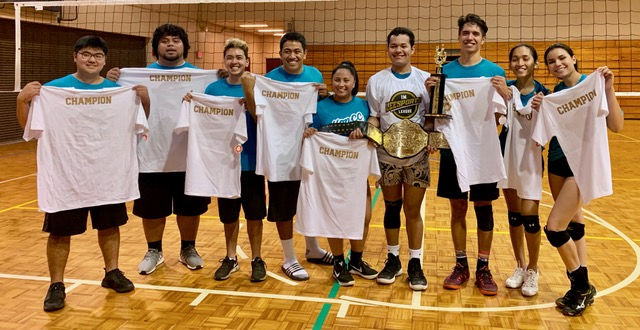 Team Teal takes third straight VB title