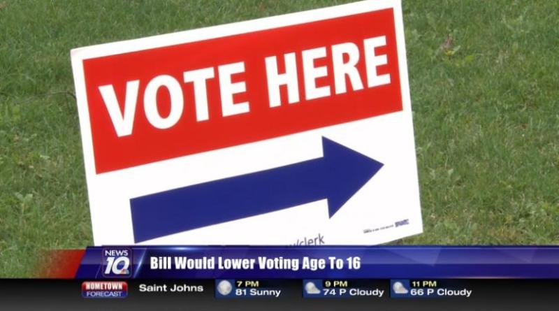 Bill would lower voting age to 16