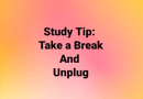 Study Tip: Take a Break and Unplug – Instagram