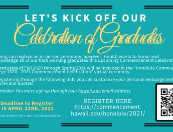 Honolulu CC 2020 – 2021 Graduation Information