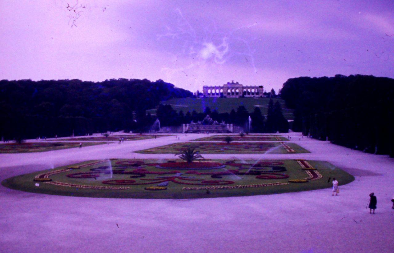 Park Schloss Schönbrunn, Wien, aus Familienbesitz, kasaan media, 2019