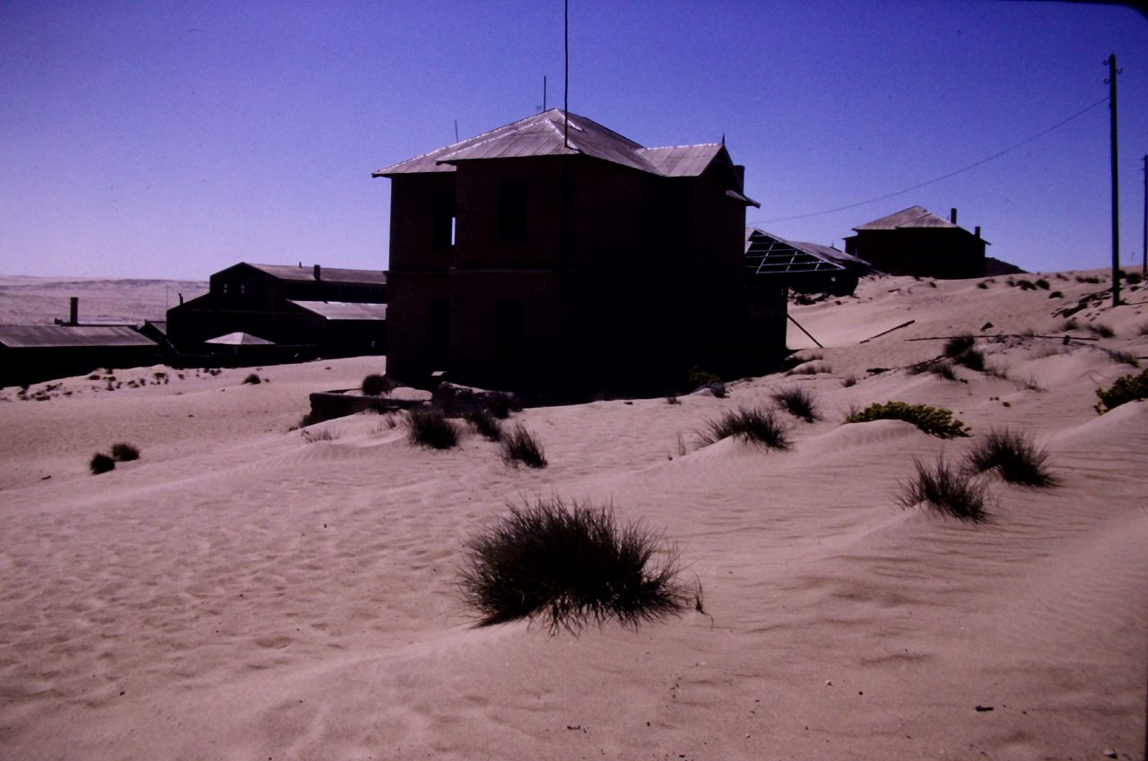 Verlassene Diamantmine bei Lüderitz