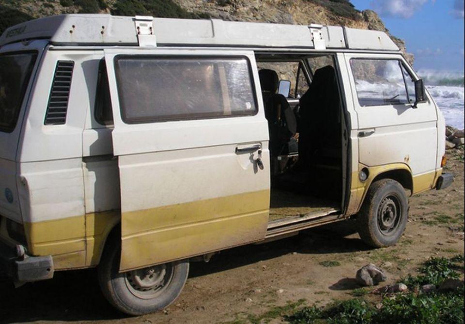 VW Bus rechtsseitig, BKA