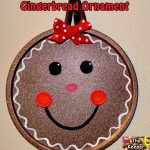 Gingerbread Dollar Store Pizza Pan Ornament The Keeper Of The Cheerios