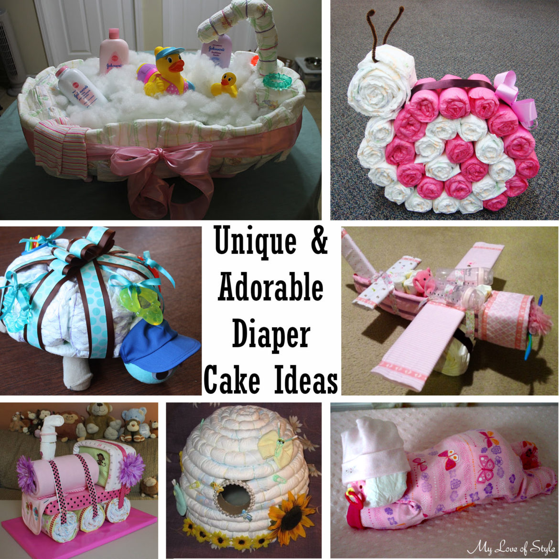 Adorable Diaper Cake Ideas