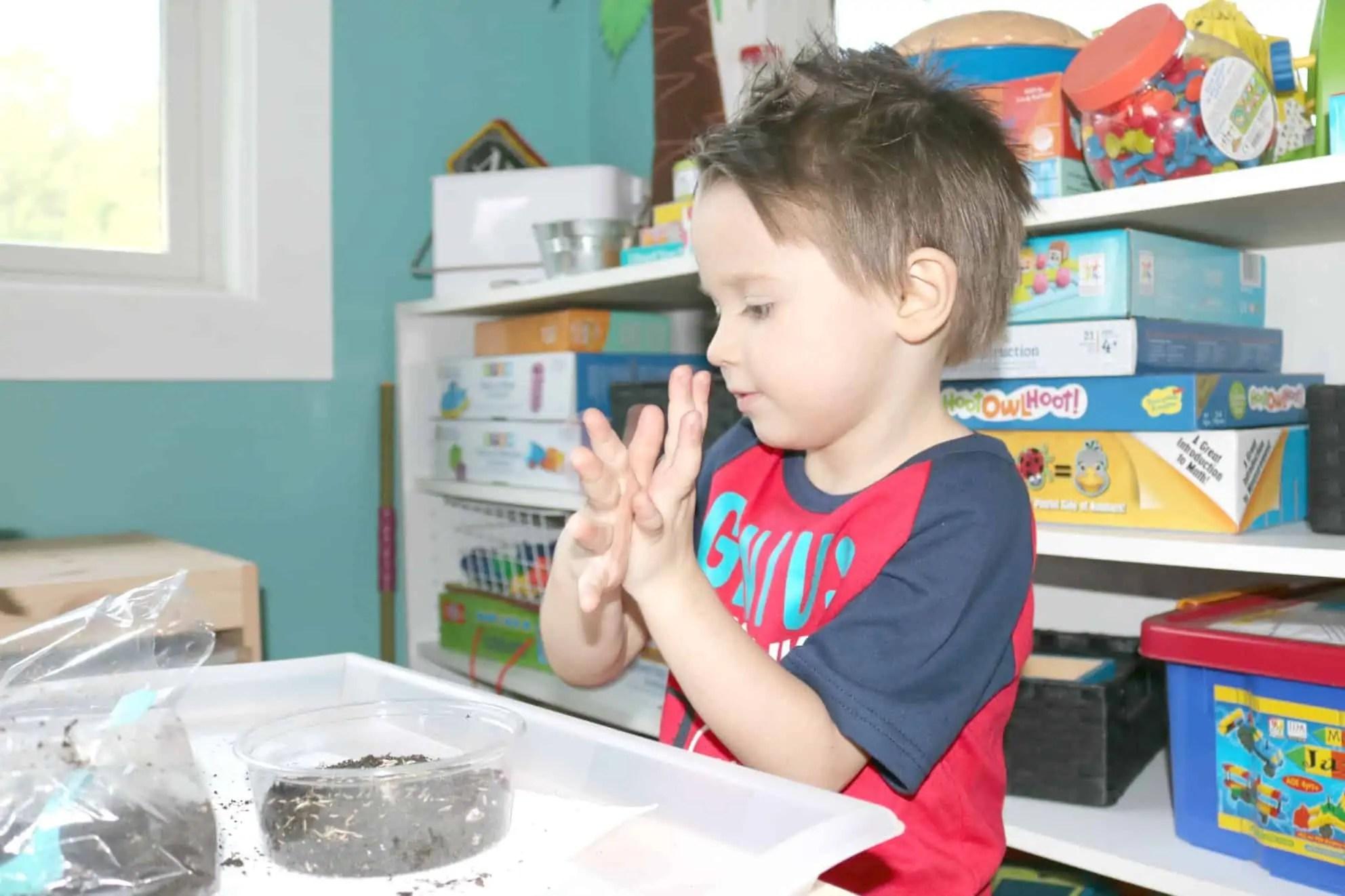 4 Spring Gardening Preschool Monthly Theme Activities That