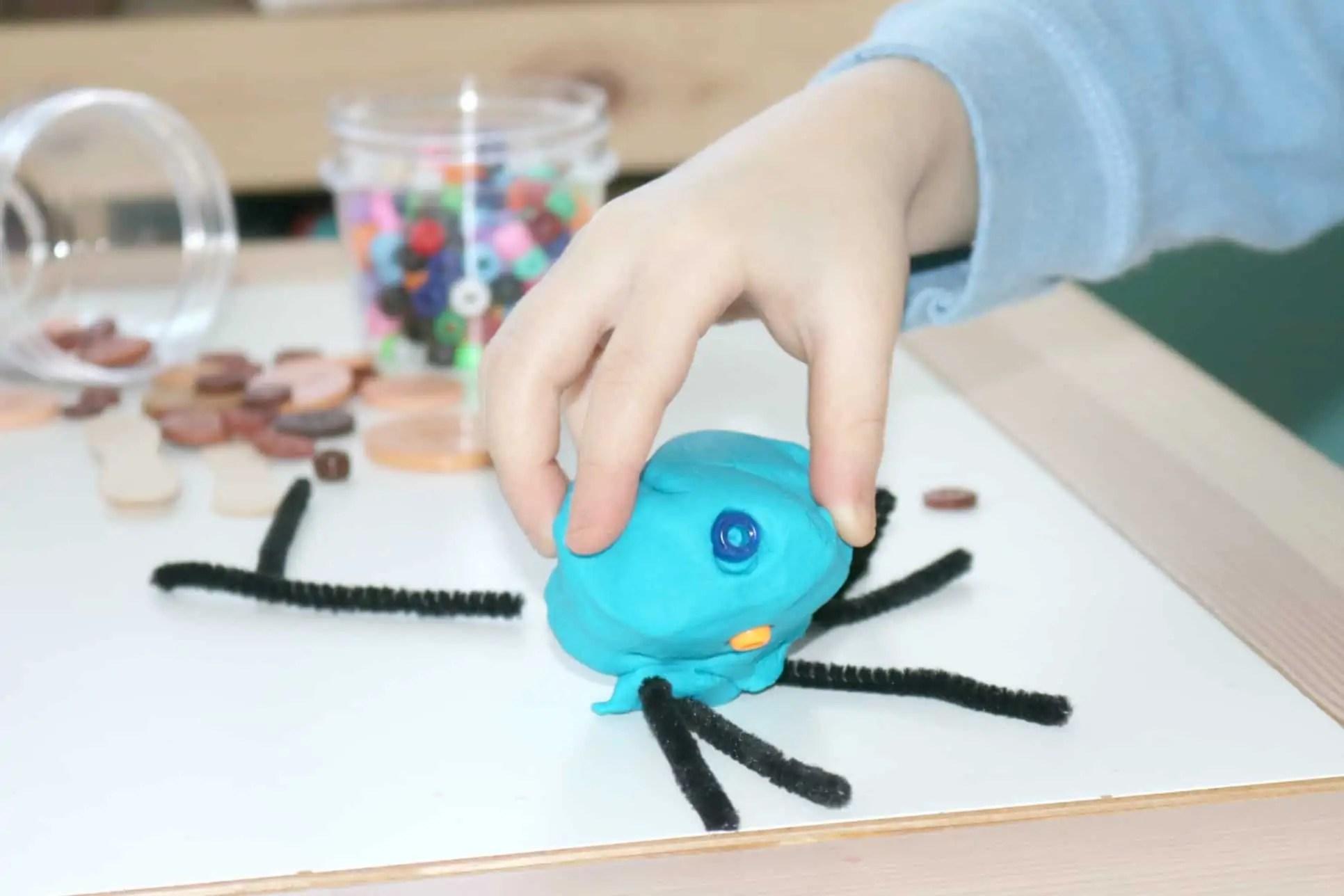 Preschool Safari Sensory Beetle Structures Investigation