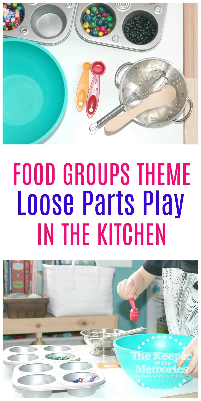 Loose Parts Preschool Kitchen 2