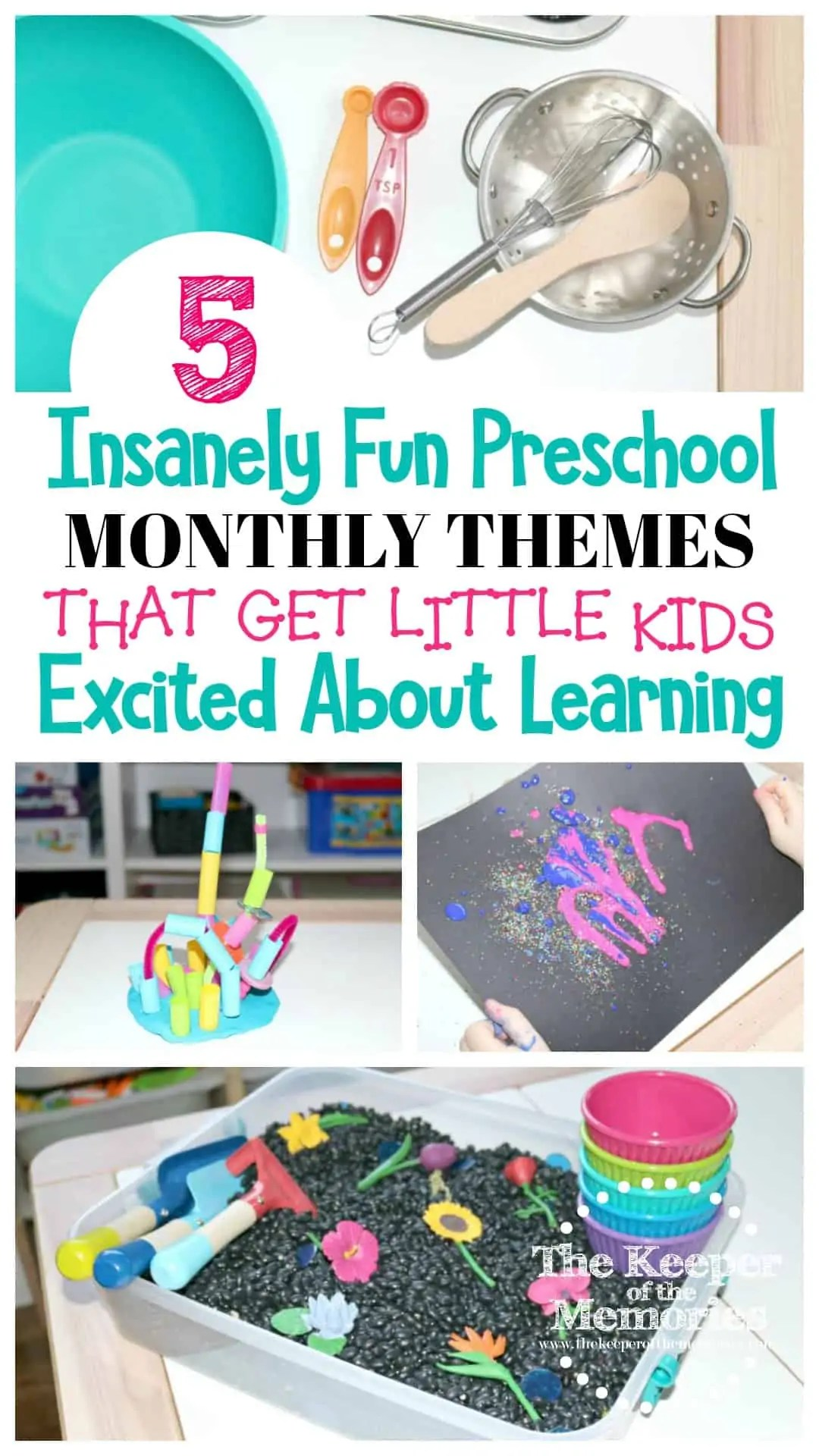 5 Insanely Fun Preschool Monthly Themes That Get Little