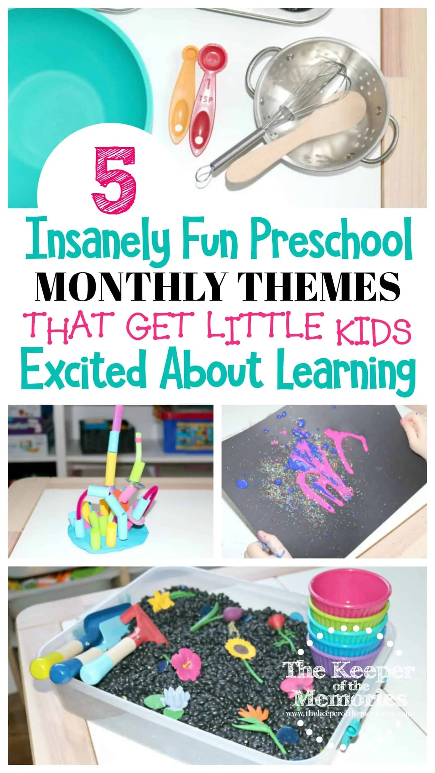 5 Fun Preschool Monthly Themes That Will Get Your Little