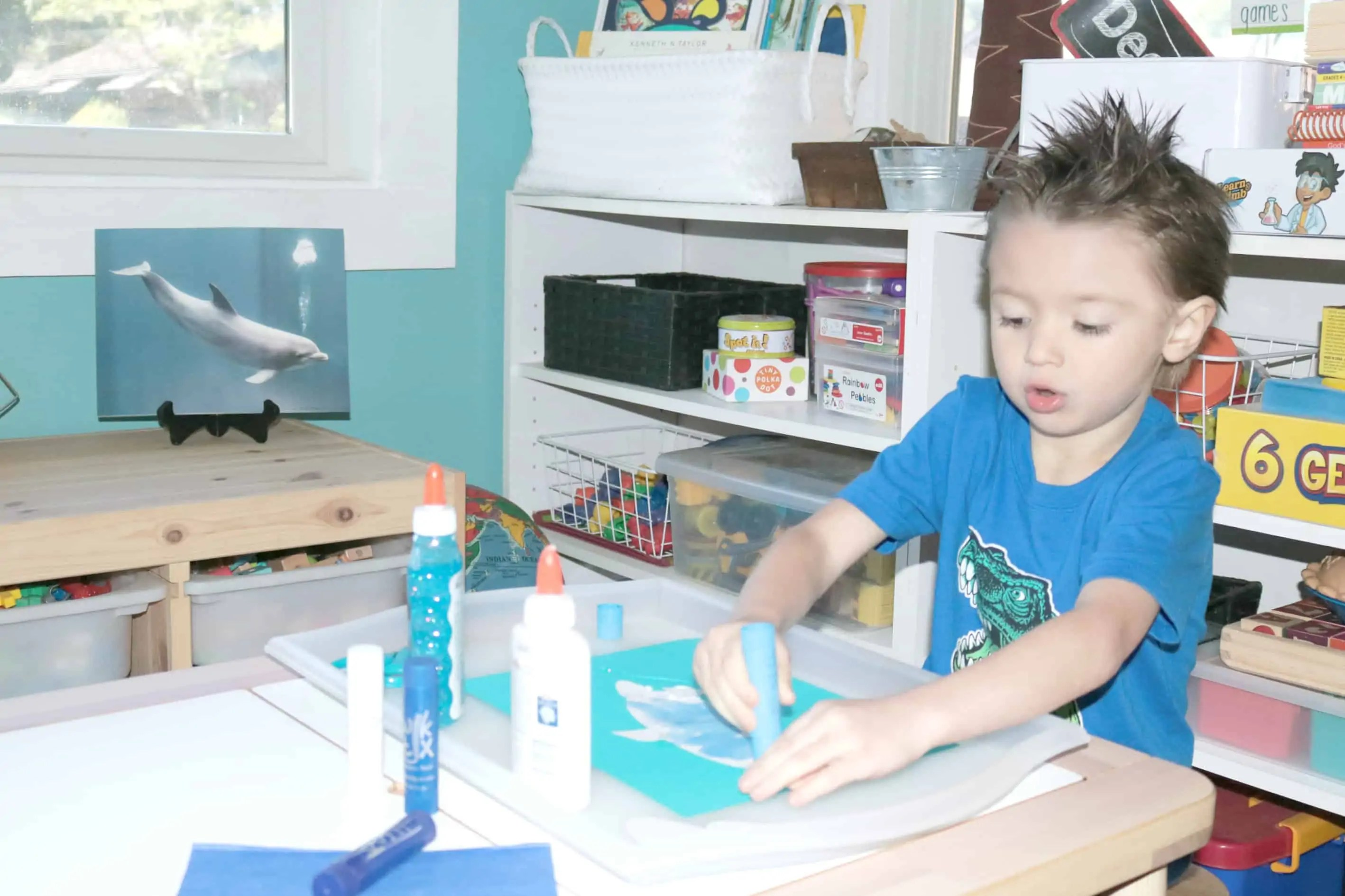 D Is For Dolphin Zoo Craft