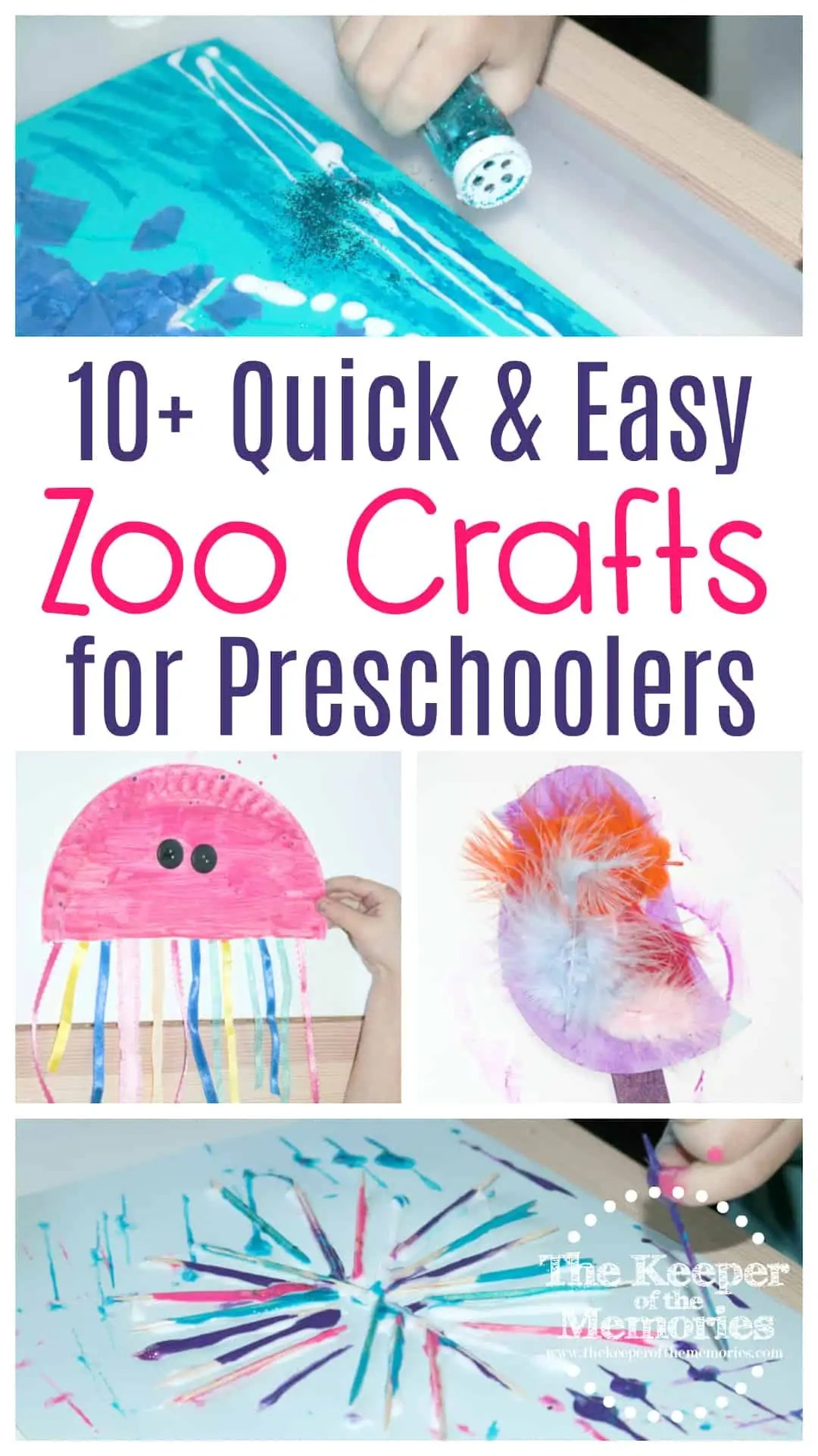 10 Quick Amp Easy Zoo Craft Ideas For Toddlers Amp Preschoolers