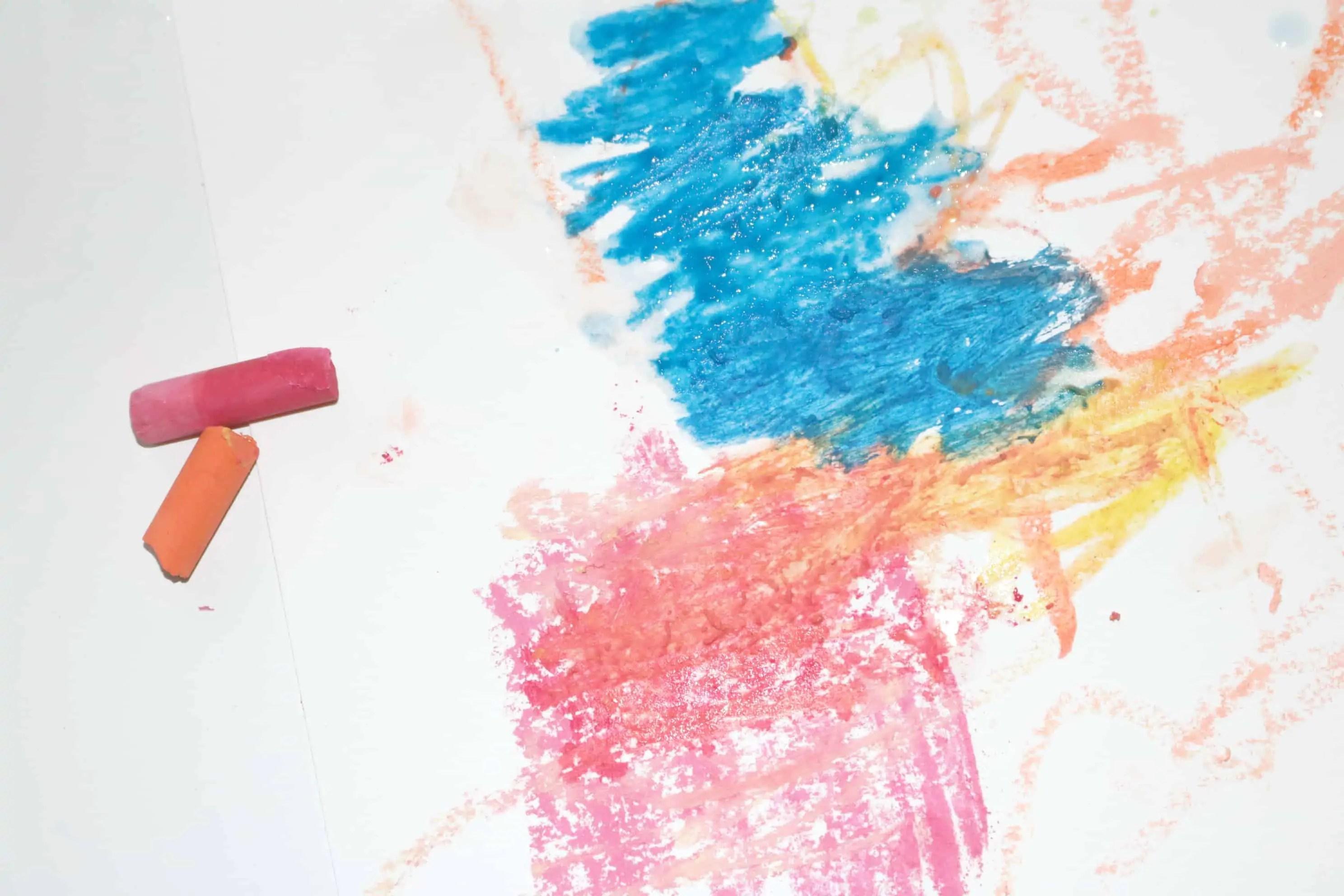 Artist Preschool Monthly Theme Chalk Amp Water Science