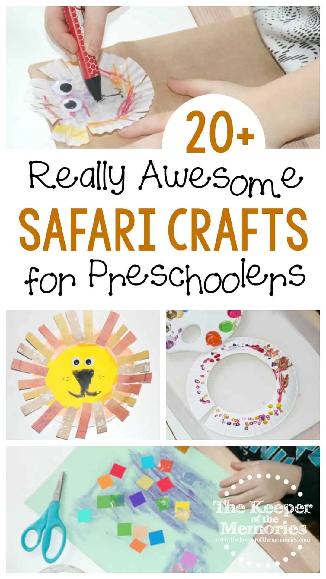 20 Really Awesome Safari Crafts For Kids