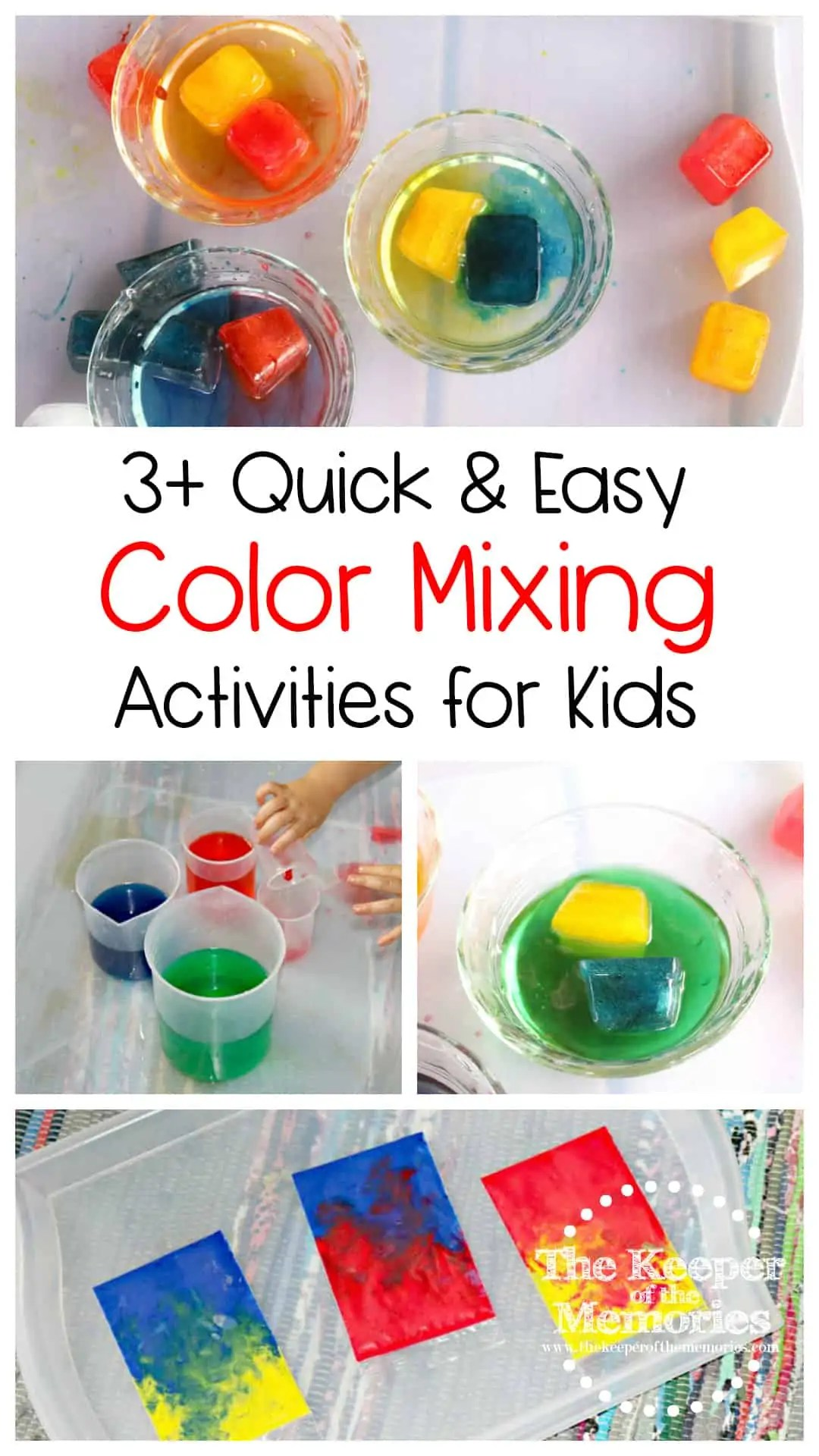 Food Coloring Activities For Preschoolers