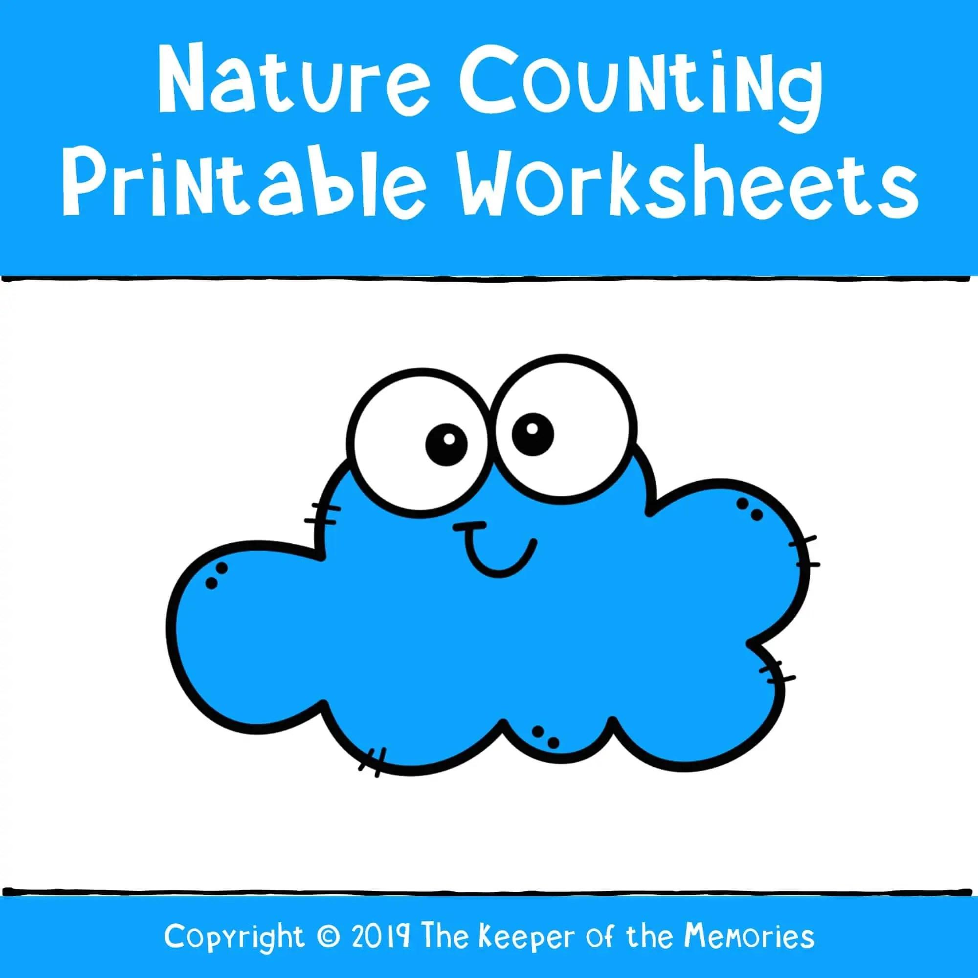 Preschool Worksheets Nature Theme