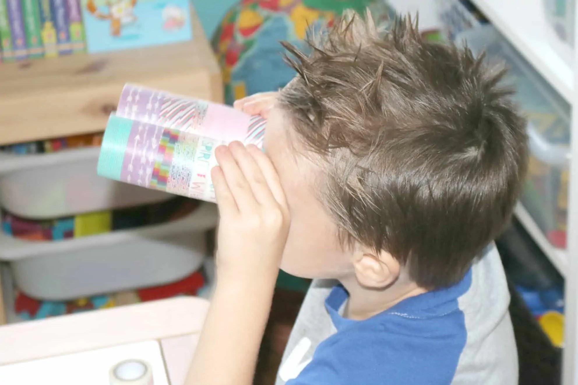 Diy Preschool Safari Crafts Binoculars