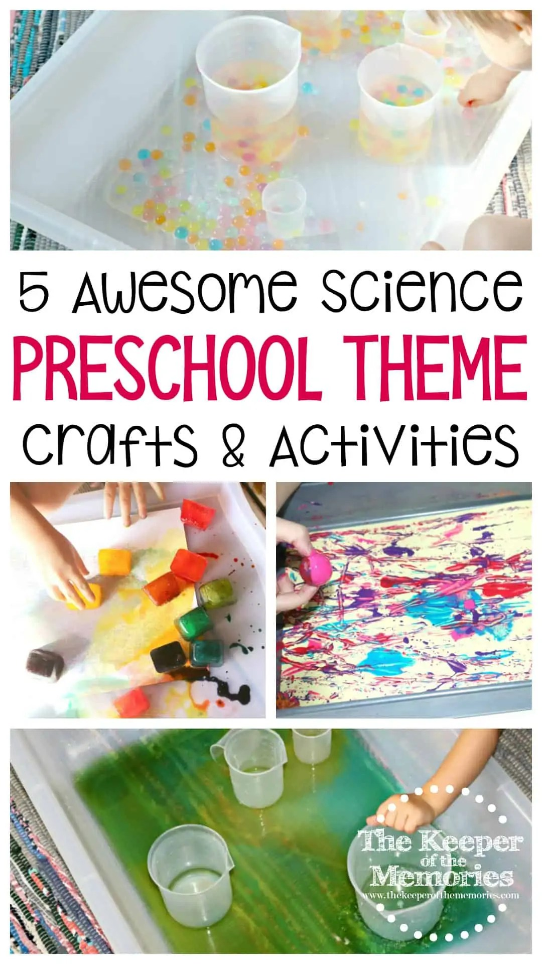5 Awesome Science Lab Preschool Monthly Theme Crafts