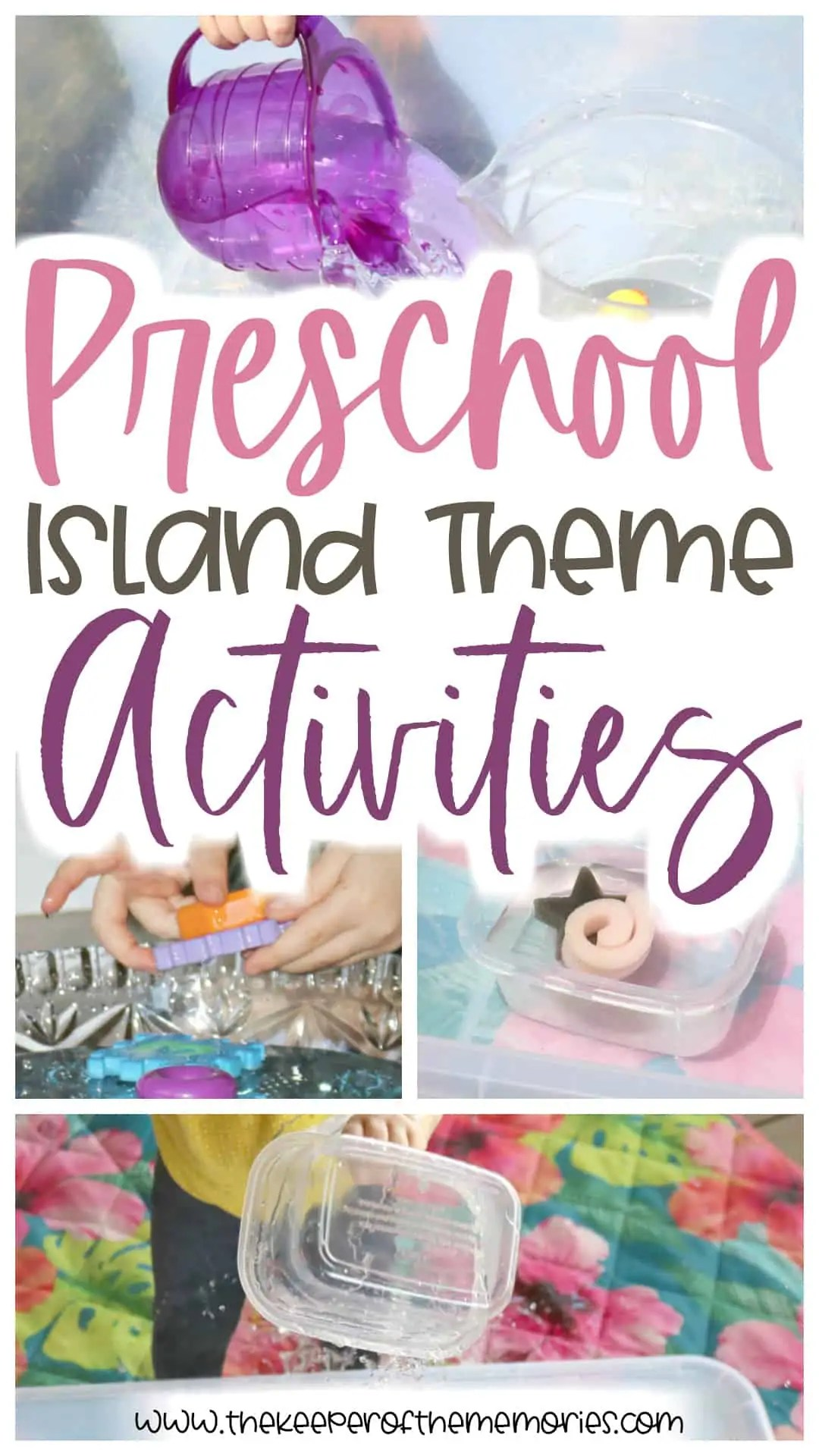 Preschool Island Theme Activities For Little Kids