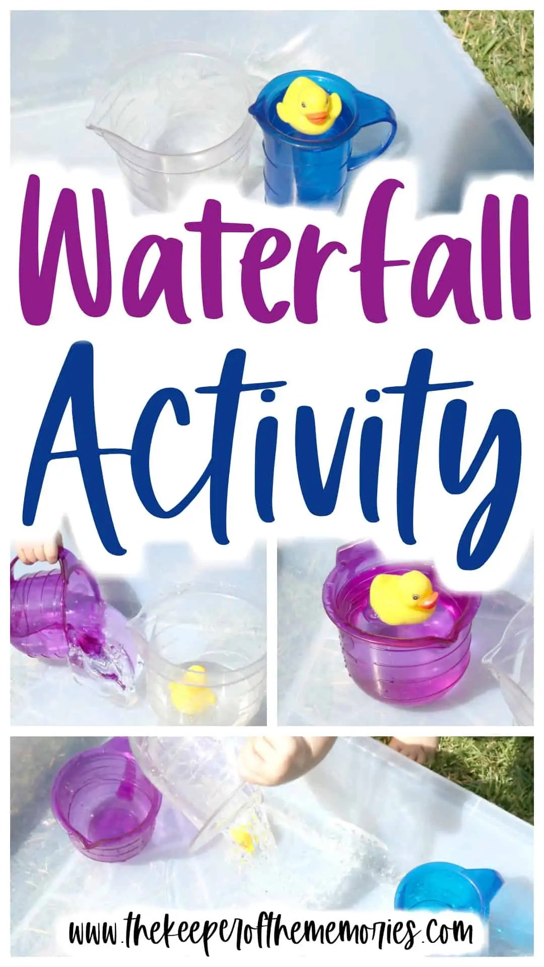 Pour A Waterfall Activity For Toddlers Amp Preschoolers