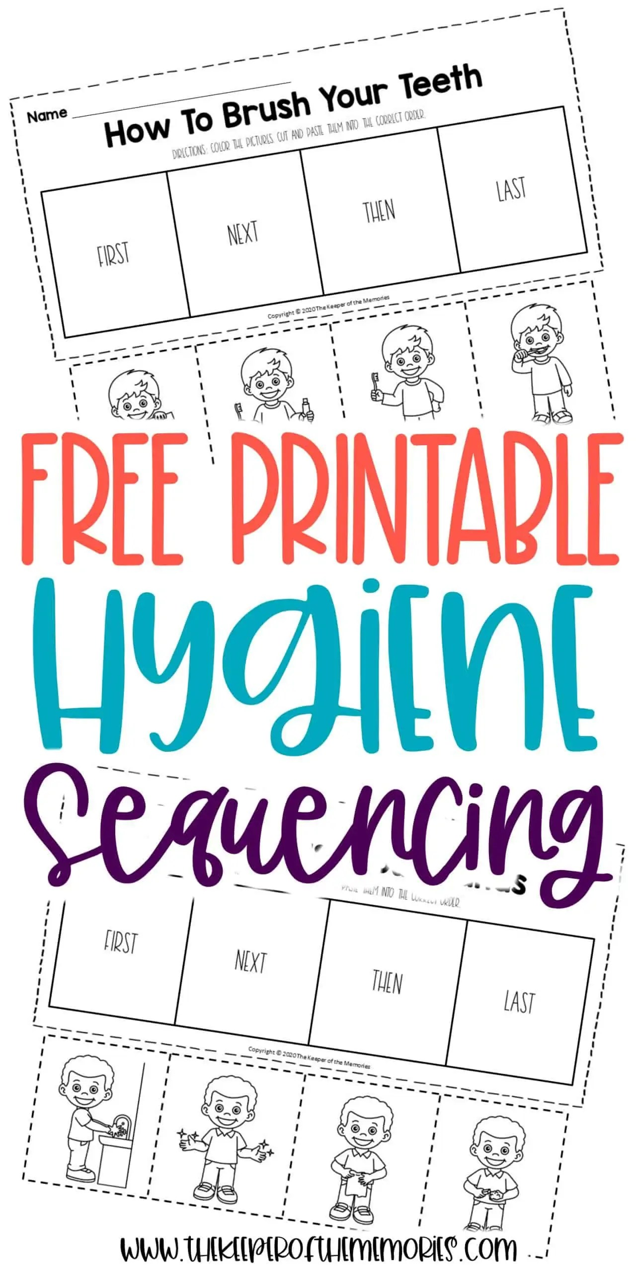 Free Printable Preschool Sequencing Worksheets