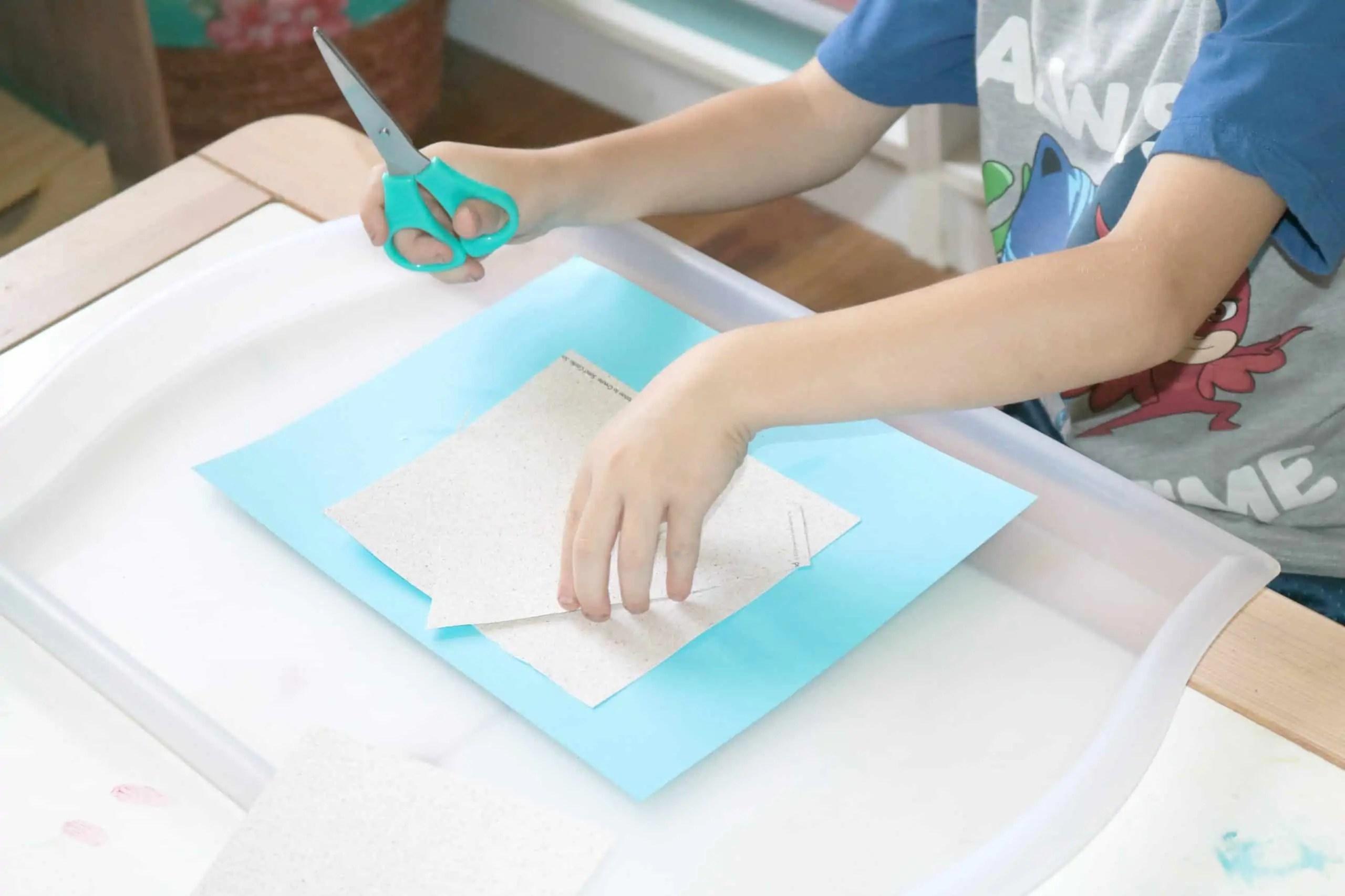 Sandcastle Preschool Craft 2