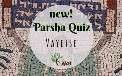 New Kefar Freebie! Vayetse Parsha Quiz