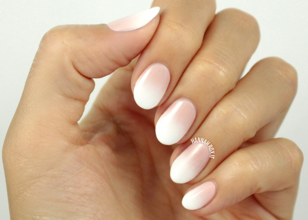 Ombre-Faded-French-Nails | The Kelley Doll