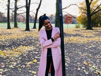 Muave Pink Duster Coat