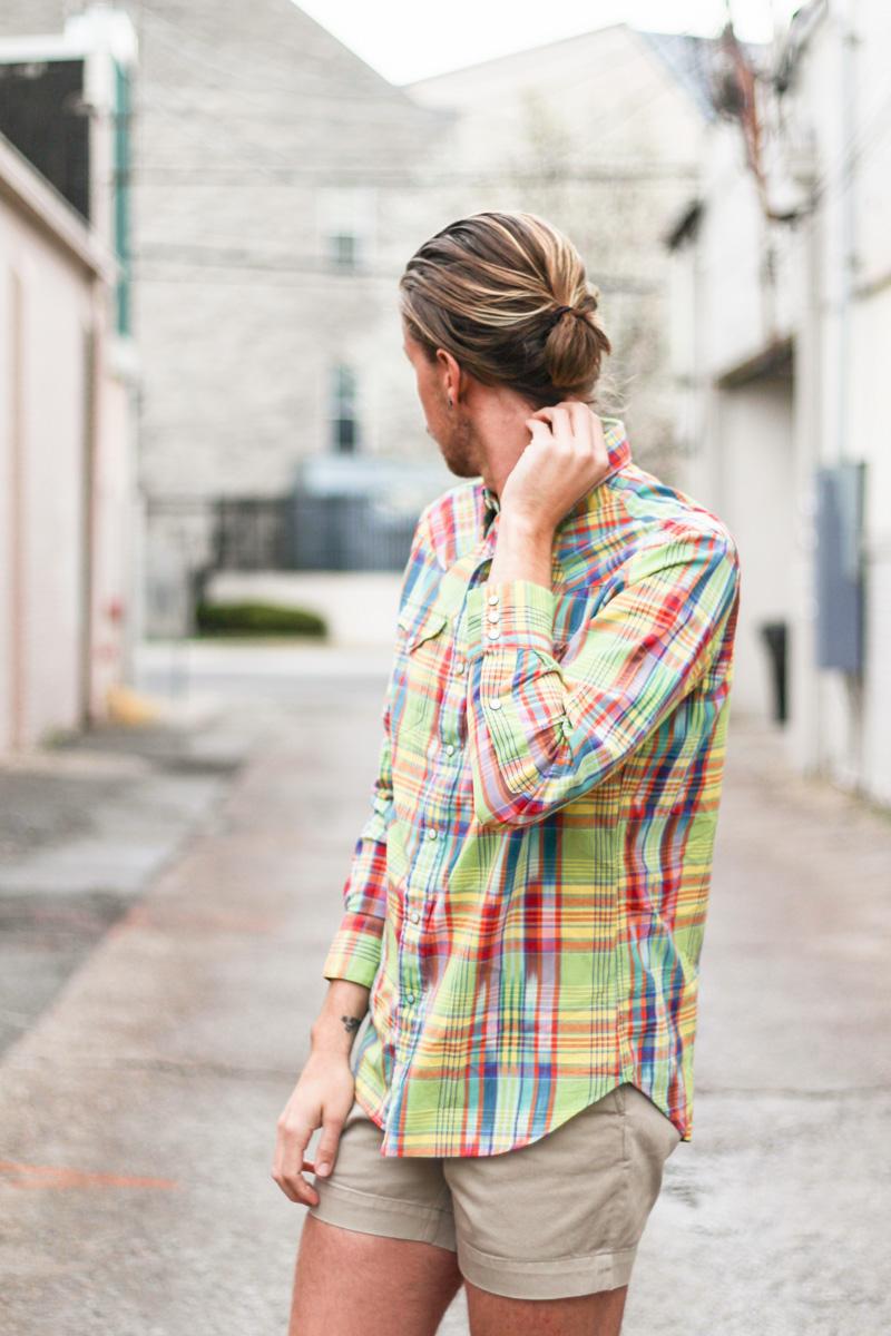 The Kentucky Gent for Dillard's Louisville in Ralph Lauren Shirt, Shorts, and Shoes