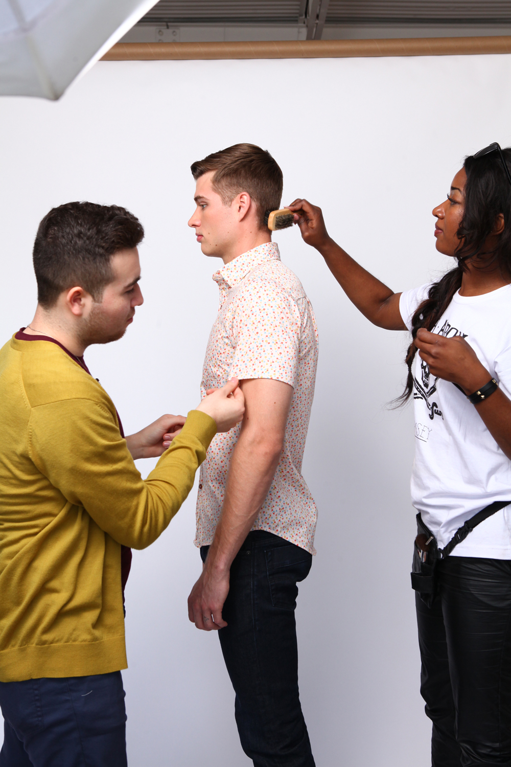 The Kentucky Gent behind the scenes with Vincent Love, DSTLD Jeans, and Billy Jealousy Grooming Products.