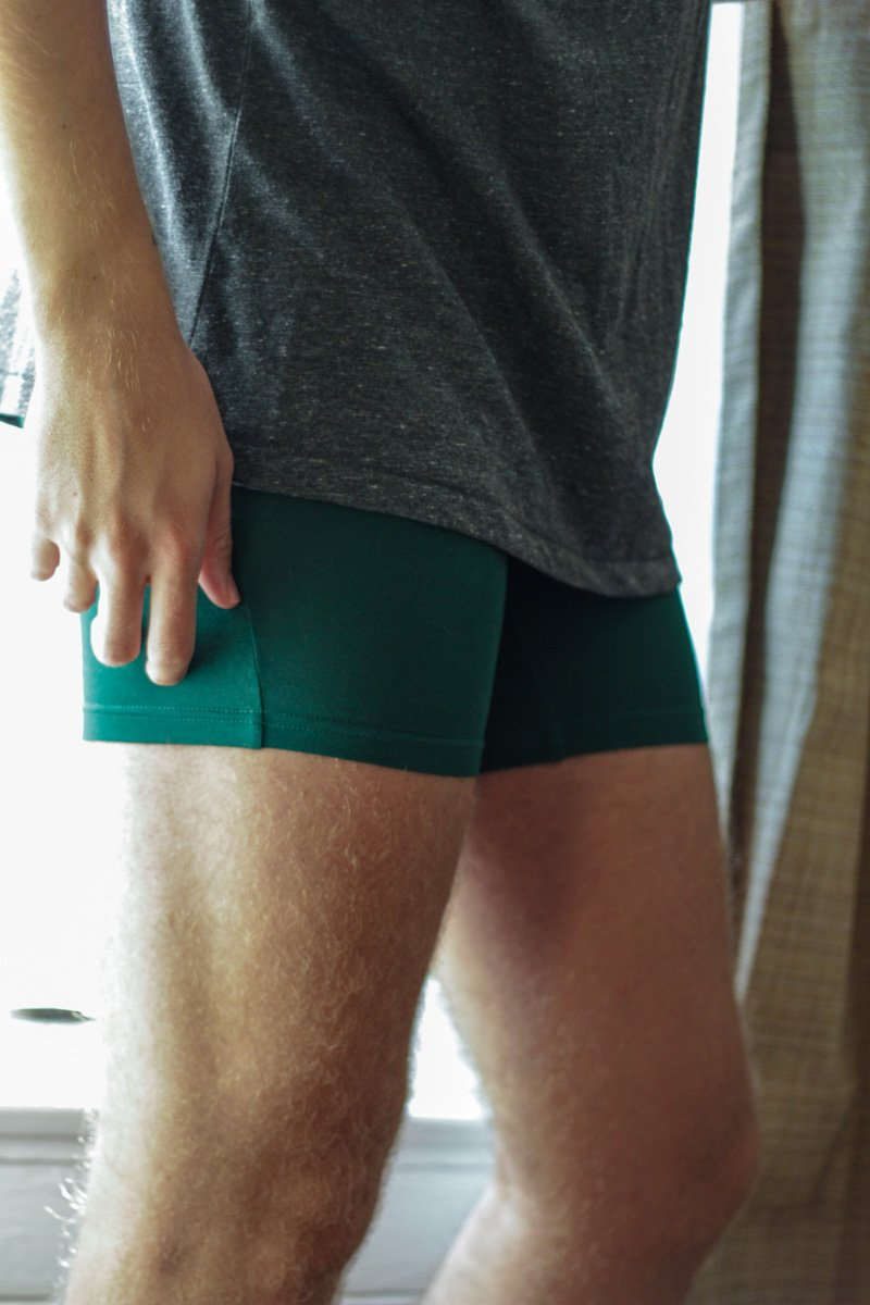 The Kentucky Gent in Wood Underwear.