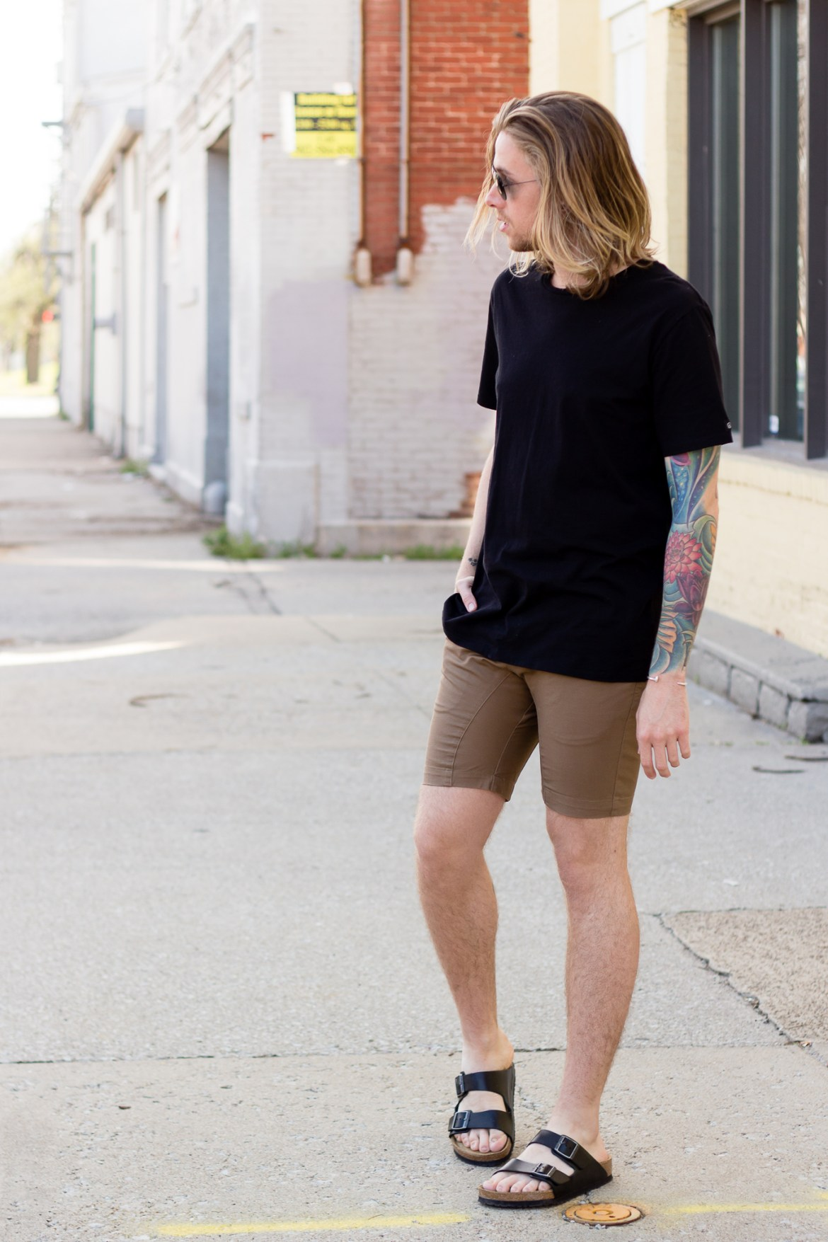 Zanerobe Flintlock T-Shirt and Shorts on The Kentucky Gent