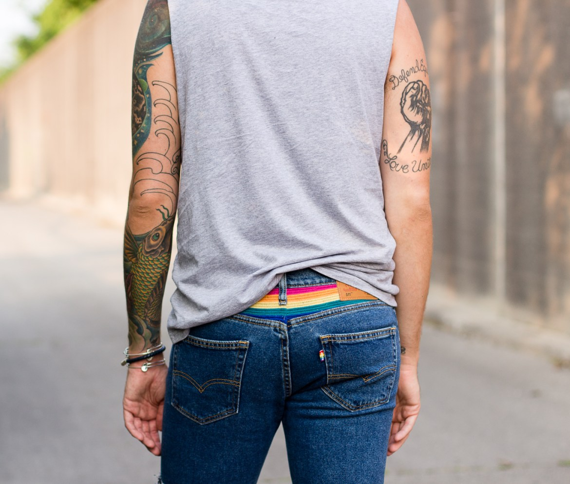 levis, pride 2015, stonewall, gay rights, live in levis