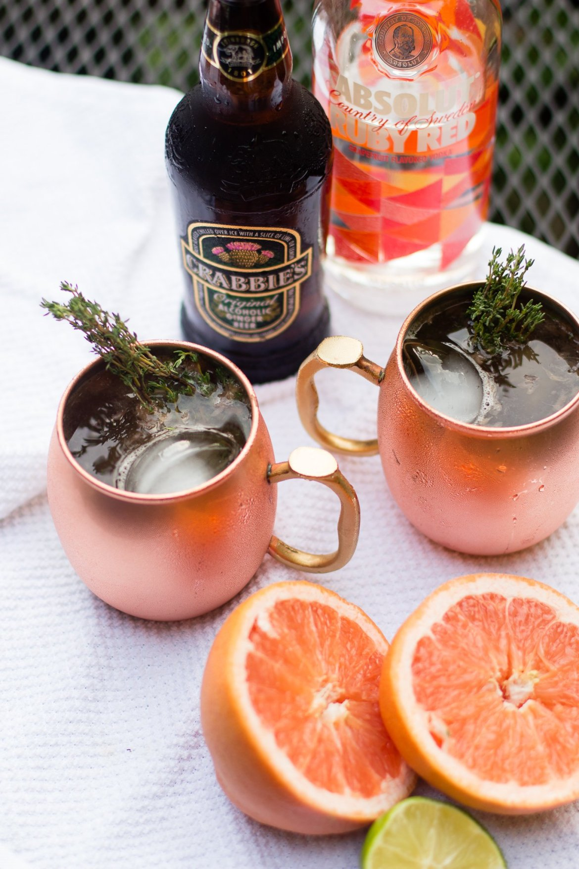 grapefruit vodka, vodka, craft cocktail, moscow mule, absolut